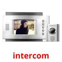 intercom picture flashcards