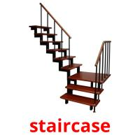 staircase picture flashcards