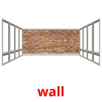 wall picture flashcards