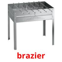 brazier picture flashcards