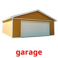 garage picture flashcards