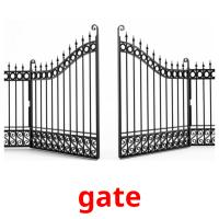 gate picture flashcards