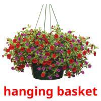 hanging basket picture flashcards