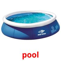 pool picture flashcards