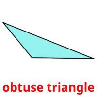 obtuse triangle picture flashcards