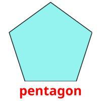 pentagon picture flashcards