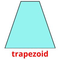 trapezoid picture flashcards