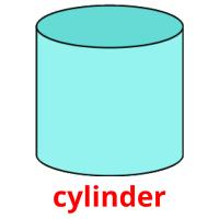 cylinder picture flashcards