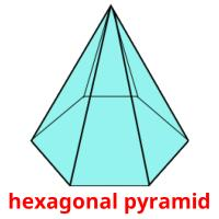 hexagonal pyramid picture flashcards