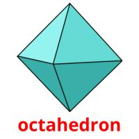 octahedron picture flashcards