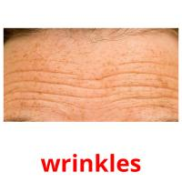 wrinkles picture flashcards