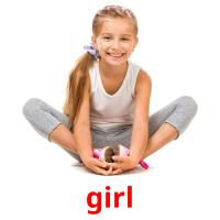 girl picture flashcards