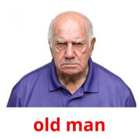 old man picture flashcards