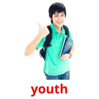 youth picture flashcards