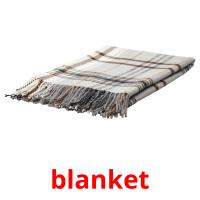 blanket picture flashcards