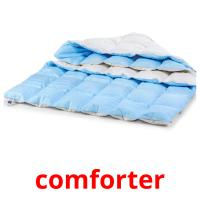 comforter picture flashcards