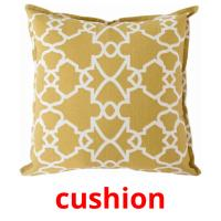 cushion picture flashcards