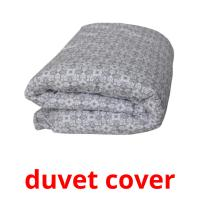 duvet cover picture flashcards