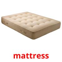 mattress picture flashcards