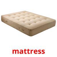 mattress picture flashcards