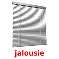 jalousie picture flashcards