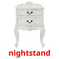 nightstand picture flashcards