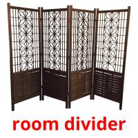 room divider picture flashcards