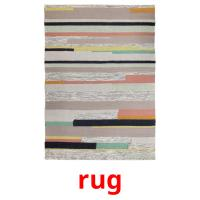 rug picture flashcards