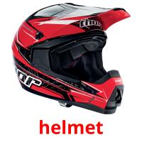 helmet picture flashcards