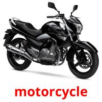 motorcycle picture flashcards
