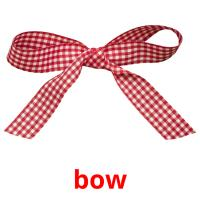 bow picture flashcards
