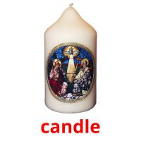 candle picture flashcards