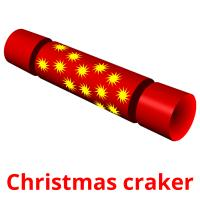 Christmas craker picture flashcards