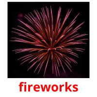 fireworks picture flashcards