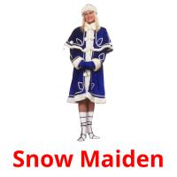Snow Maiden picture flashcards