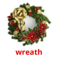wreath picture flashcards