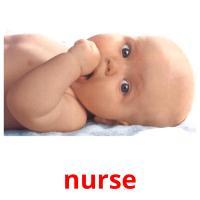 nurse picture flashcards