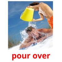 pour over picture flashcards