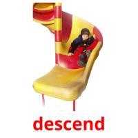 descend picture flashcards