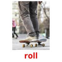 roll picture flashcards