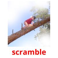 scramble picture flashcards