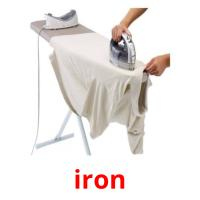 iron picture flashcards