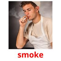 smoke picture flashcards