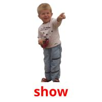 show picture flashcards