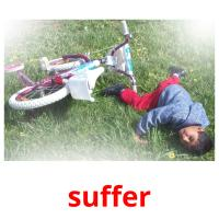 suffer picture flashcards