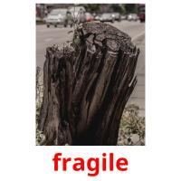 fragile карточки энциклопедических знаний