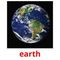 earth picture flashcards