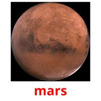 mars picture flashcards