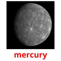 mercury picture flashcards