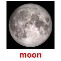 moon picture flashcards